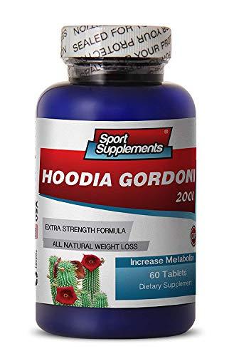 Hoodia Hoodia Gordonii Liquid Extract Tincture - Hoodia Gordonii Cactus 2000mg Diet 60 Tablets - Natural Appetite Suppressant Hoodia Gordonii (1 Bottle)