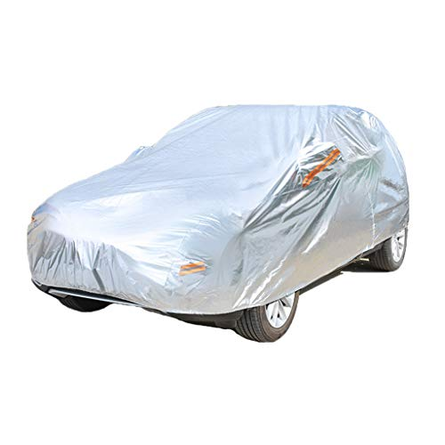 Color : Silver, Size : XK8 Car Cover Compatible With Jaguar XK XK8 XKR All-weather Waterproof And Durable Anti-scratch Protect Car Paint Easy To Install Convenient Storage