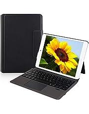 Ewin ipad 10.2 ケース 2020モデルipad第8世代 2019モデル 第7世代 ipad10.5 bluetooth キーボード タッチパッド搭載 カバー 薄型 軽量 タブレットpc ケース 手帳型 傷防止 オートスリープ iPad保護ケース スマート スタンド機能付き 全面保護型 ペンシルホルダー付き 耐久性 1年間保証