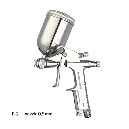Professionele Mini Spray Gun Zwaartekracht Feed Air Airbrush 0.5mm mondstuk Grootte 125 Cc Aluminium Cup 13 Oz Legering Leren Schilderen Tool