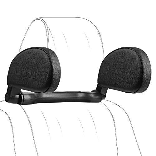 Car Headrest Pillow, Hswt Car Neck Pillow Head Pillow, Car Sleeping Travel Pillow, Car Neck Head Shoulder Sleep Cushion Car Side Pillow for Kids Adults Elders