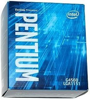 Processador Pentium Bx80677G4560 G4560 3.5Ghz 3Mb Cache Graf Hd Ht Kabylake Lga 1151 7ª Geracao, INTEL, BX80677G4560