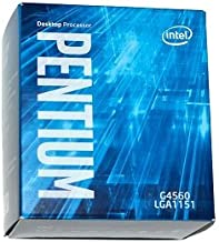 Intel Pentium G4560 - 3.5 GHz - 2 cores - 4 threads - 3 MB cache - LGA1151 Socket - Box