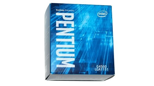 Intel - Procesador pentium g4560 - Dual Core - 3.50ghz - Socket lga1151-3mb Cache - HD Graphics 610