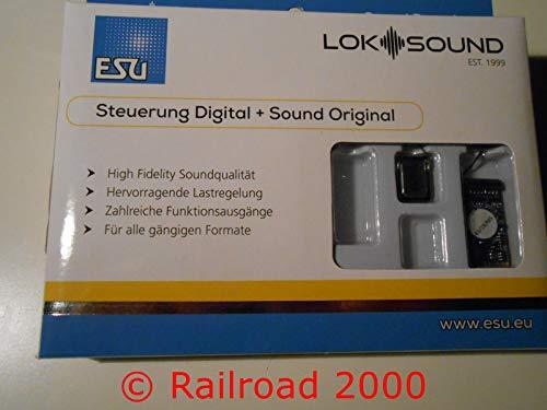 ESU 58419 LokSound 5 DCC/MM/SX/M4 Leerdecoder, 21MTC NEM660, Lautsprecher