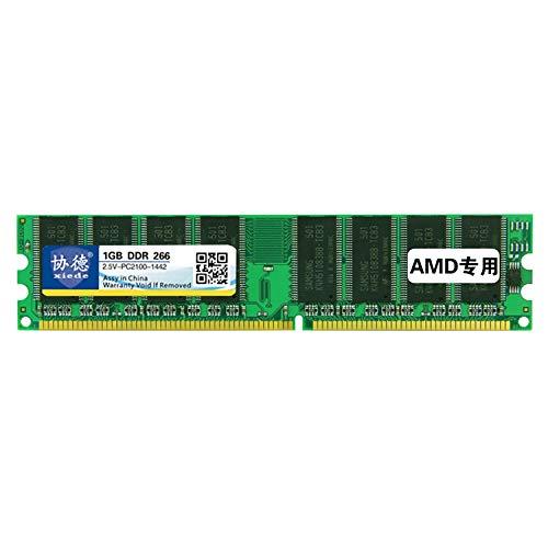 Memoria del Ordenador X006 DDR 266 MHz 1 GB AMD General Tira Especial del módulo de Memoria RAM, for PC de Escritorio