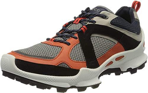 Ecco Herren BIOMC-TRAILM Sneaker, Mehrfarbig (Fire/Gravel/Wild Dove 51829), 43 EU