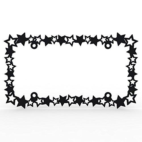 stars license plate frame - 2