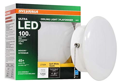SYLVANIA General Lighting 75112 100W Equivalent Ultra LED Non-Dimmable 7