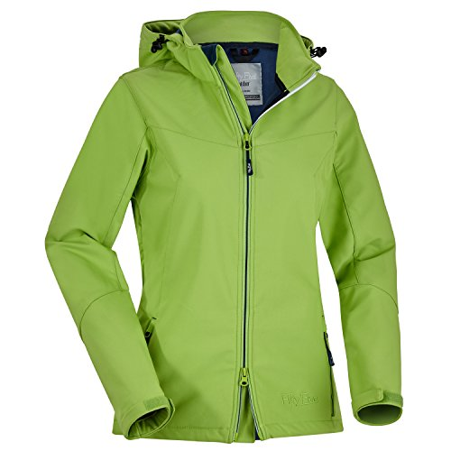 Fifty Five Dames Softshell jas Winterjas Saint Anne Warme Outdoorjas Winddicht ademend