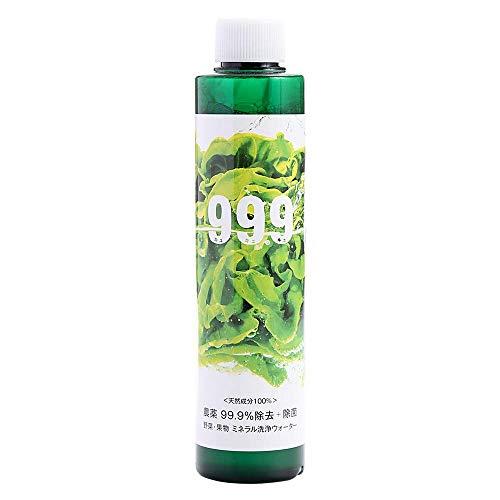 99.9/ キュキュッキュ 野菜 くだもの洗い 200ml これが本当の無農薬野菜 野菜も果物も除菌洗浄する時代
