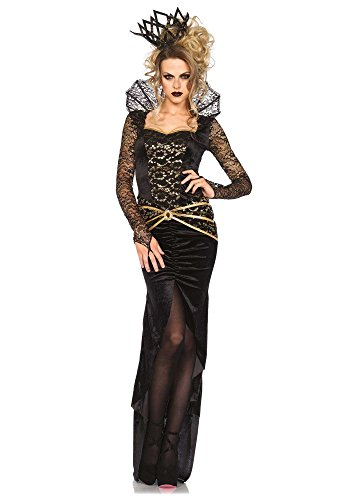 Leg Avenue Damen Kostüm Deluxe Evil Queen, Größe:M