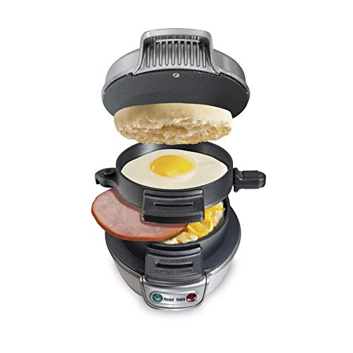 Amazon - Hamilton Beach Breakfast Sandwich Maker $22.49