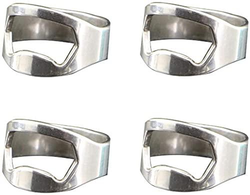 Apribottiglie Anello Mini Apribottiglie Ad Anello Beer Opener Portatile Ring-Shape in Acciaio Inox Apribottiglie, Apri Bottiglie Tappo A Corona - Apribottiglia Accessori Originali