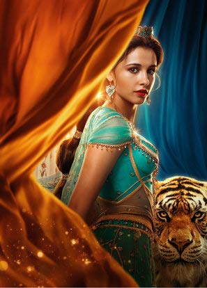 Aladdin – Jasmine – Textless Movie Wall Poster Print - 30cm x 43cm / 12 Inches x 17 Inches