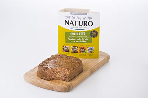 Naturo Mini Dog Grain Free Chicken & Potato with Vegetables Wet Food for Adult Dogs 150g x 7