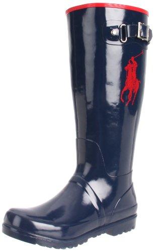 Polo Ralph Lauren Kids Boys' Ranger HI II Fashion Boot, Triple Grey Nubuck, 2.5 Medium US Little Kid