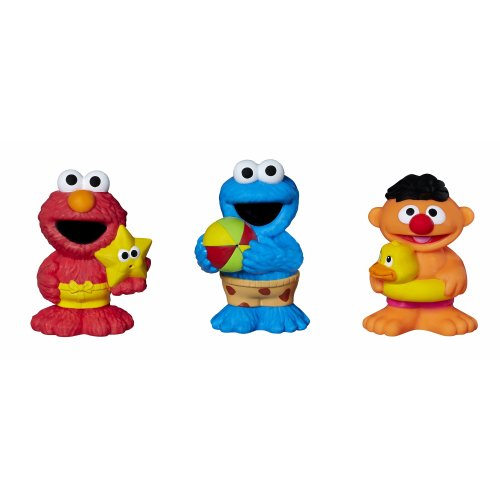 Sesame Street Squirts are fun bath time water toys for toddlers