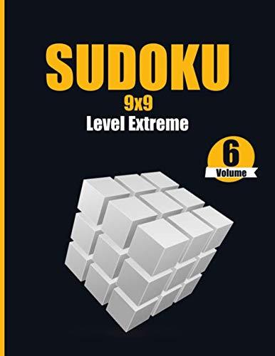 Sudoku 9x9 Level Extreme Volume 6: Activity book large print
