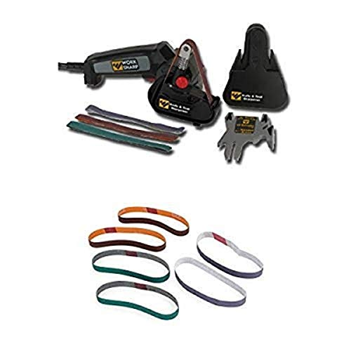 Work Sharp WSKTS Knife and Tool Sharpener and Replacement Belt