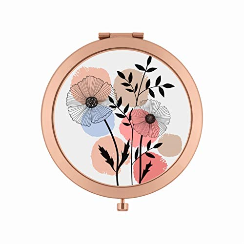 Dlp, Miroir de poche LAURENCE Palette de beauté Métal/Epoxy