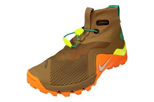 Nike Metcon X SF, Zapatillas Deportivas Hombre, Beechtree/Pure Platinum/Velvet Brown, 45.5 EU