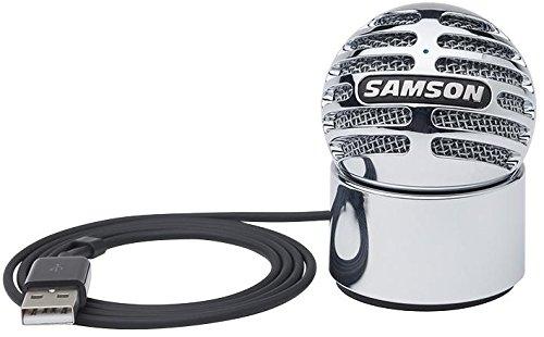 Samson Best Price Square microfoon, condenser, USB, Silver Meteorite USB Silver