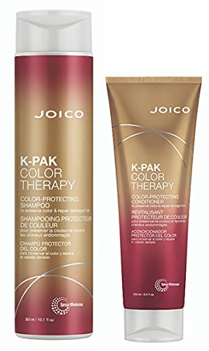 Joico K-pak Color Therapy Shampoo & Conditioner, 10.1 Oz
