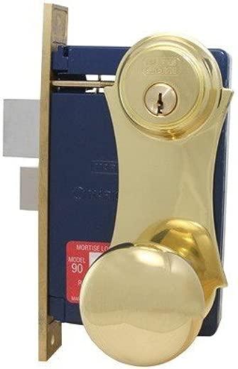 ✅Marks Lock 21 Brass Series UNILOCK 21AC Mortise Lock for Security Door and Storm Door (Left Handed) #Tools & Home Improvement Hardware
