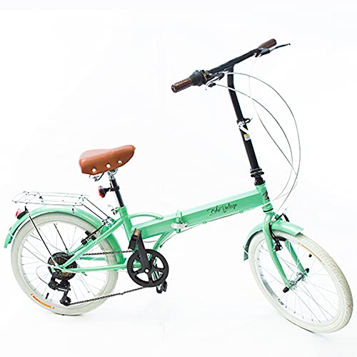 Bicicleta Dobrável Fenix Green LIGHT Kit Marcha Shimano 6 Velocidades