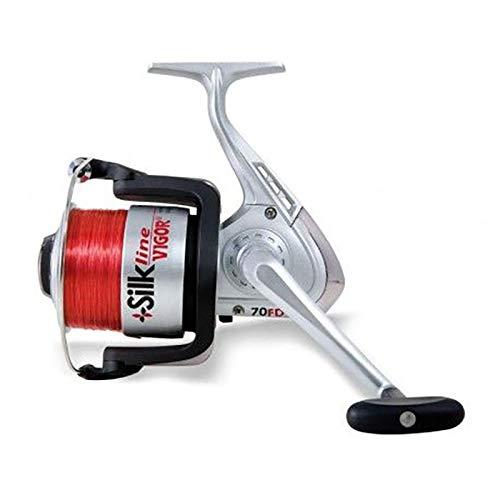 Lineaeffe Carretes de Pesca Embobinado Vigor Silk Line 7000 Spinning Boloñesa Feeder Trucha Rio