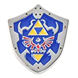 Pin de metal The Legend of Zelda con escudo de Hylia de Link