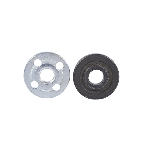 Angle Grinder Outer Lock Flange Nut, 1 Pair Replacement Electrical Angle Grinder Fitting Part Inner Outer Flange for Makita 9523
