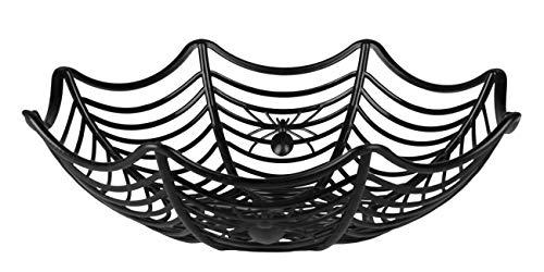 Boland 74552 Halloweenkorb Spinnennetz, Schwarz