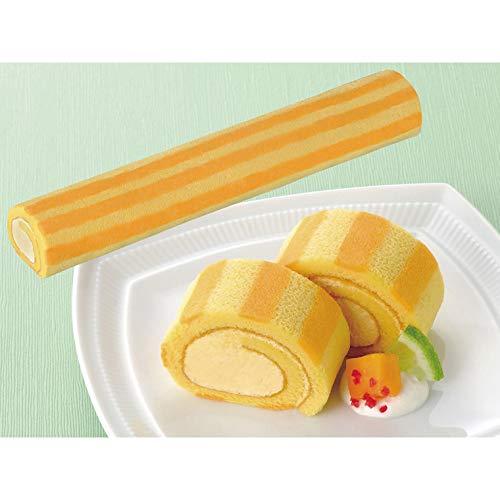 味冷) ロールケーキマンゴー (アルフォンソマンゴーピューレ使用) 190g