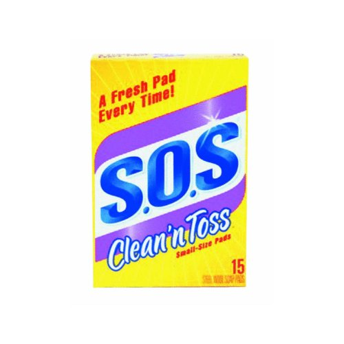 Clean 'n Toss S.O.S Pads; 15 count
