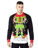 LED Weihnachtspullover Elf