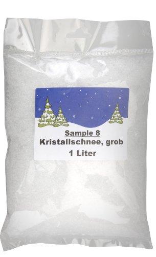 1 Liter Kristallschnee - Kunstschnee - Dekoschnee