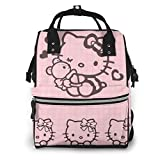 Lattice Hello Kitty - Bolsa para pañales, diseño de Hello Kitty