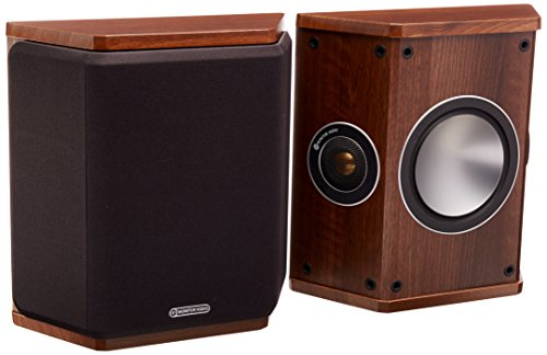 Monitor Audio Bronze Series FX 2 Way Rear Effects Speakers - Walnut by Monitor Audio