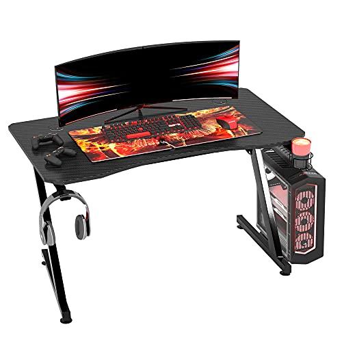 HOMCOM Mesa Gaming para Ordenador PC Escritorio