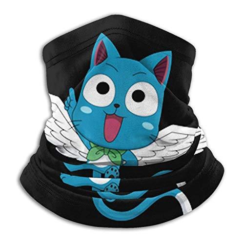 Happy Png Fairy Tail - Bufanda unisex de microfibra para cuello a prueba de viento a prueba de polvo