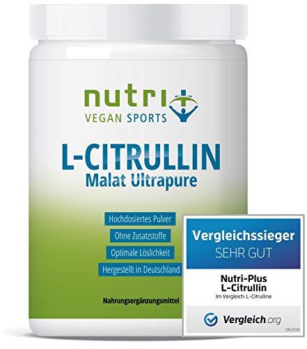 L-CITRULLIN MALAT PULVER Vegan 500g - höchste Dosierung und Reinheit - Bodybuilding, Fitness und Sport - L-Citrulline Malate DL 2:1 - Premiumqualität hergestellt in Deutschland