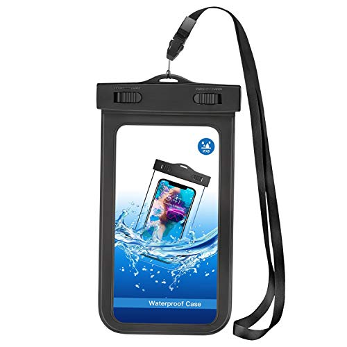 Bag Underwater Waterproof Case Floating Cover Touch Screen IPX8 Pouch D4R for Motorola Moto Z4 Z3 G7 Power G5S Plus G5 Plus (XT1687) Play Z2 Play Z Play Droid Force Droid X4 X, Revvlry Plus