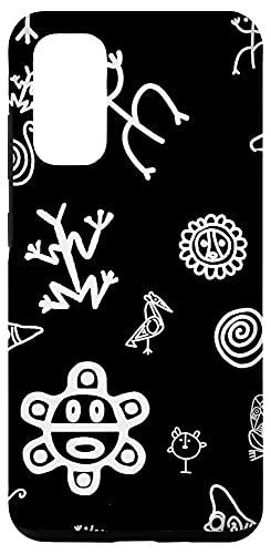 Galaxy S20 Simbolos Tainos Tallados Indios de Puerto Rico Boricua Pride Case