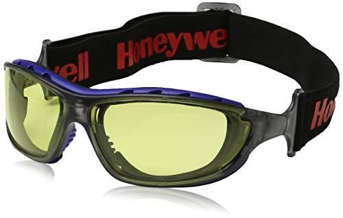HONEYWELL 1028644 Schutzbrille SP 1000-2G gelbe HDL Sichtscheibe Rahmen schwarz