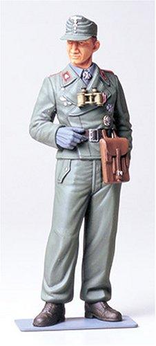 TAMIYA 300036301 300036301-1:16 WWII Figur Deutscher Panzersoldat, originalgetreue Nachbildung, Plastik Bausatz, Basteln, Modellbausatz, Zusammenbauen, unlackiert