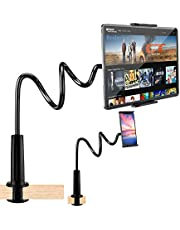 BROLAVIYA ® X3 iLike Smart Phone Holder, Gooseneck Flexible Lazy Arm Mount and Stand for Both Mobiles and Tablets Used at Desktop Bedroom, Office, Bathroom, Kitchen by Iceberg Makers