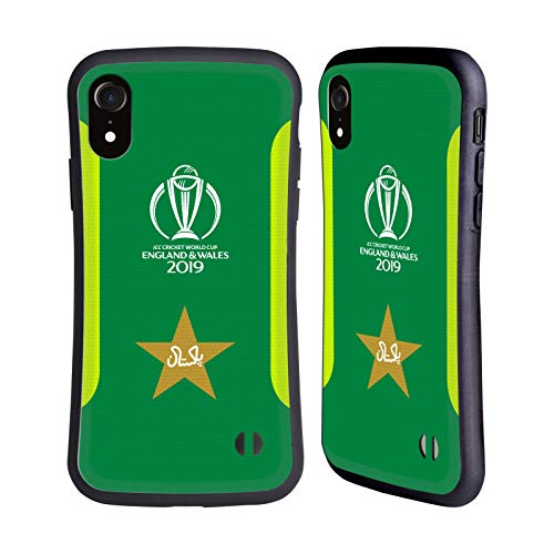 Head Case Designs Officially Licensed ICC Jersey Pakistan Cricket World Cup Hybrid Case Compatible with Apple iPhone XR