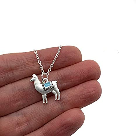 Sister Missionary Llama Pendant Necklace chain LDS Missionary Gift Alpaca My Bags Spanish Mission